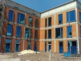 okna, drzwi, fasada aluminium, szkło P5 i selektywne