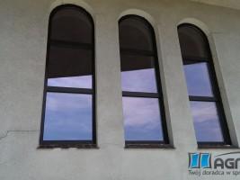 okna DPP70 dąb bagienny,