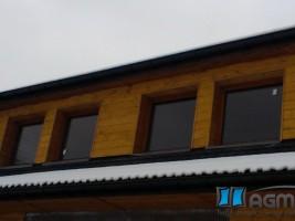 okna drewniane sosna 68mm