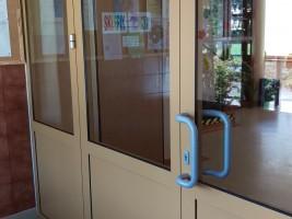 drzwi aluminiowe kolor RAL