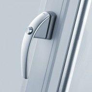 klamki-roto-swing-secustic-srebrna z przyciskiem
